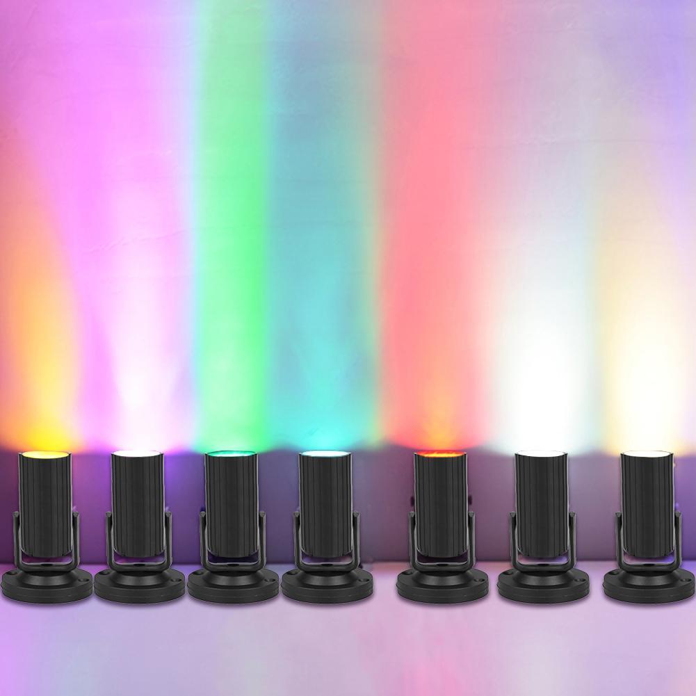 1 Вт Светодиодный сценический Точечный светильник Эффект луча светильник светодиодный маленький LED-светильник Фонари KTV бар диско-вспышка С...