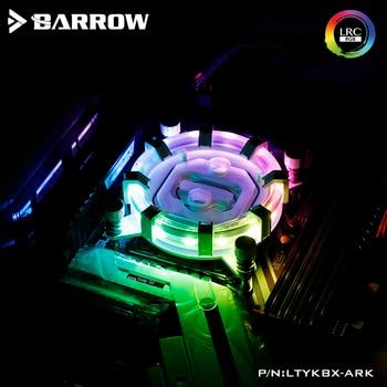 Barrow CPU Water Block use for INTEL LGA 2011 2066 X99 X299 Radiator 5V GND to 3PIN Hearder Motherboard