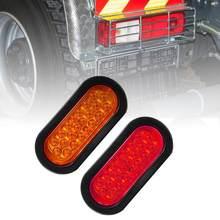 22led trilha lado marcador luzes acessórios do carro 10-30v luzes de advertência luzes traseiras caminhão pickup turno signal indicador luz de freio