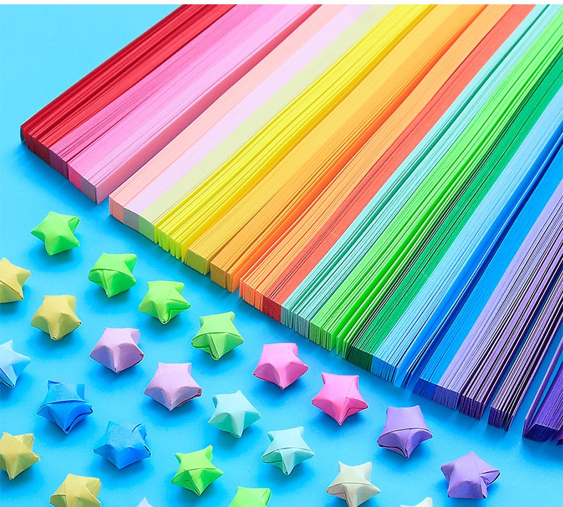 Quilling Strips Arts, Crafts & Sewing 50pcs handcraft origami ...