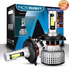 NOVSIGHT Super Bright Car Headlight Bulbs h7 led h7 h11 h1 h3 hb3 hb4 h8 h13 9007 72W 10000LM h4 led lamp light bulbs for auto