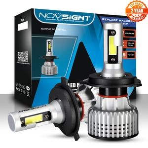 Image 1 - NOVSIGHT لمبات المصابيح الأمامية للسيارة led ، فائقة السطوع ، h7 ، h11 ، h1 ، h3 ، hb3 ، hb4 ، h8 ، h13 ، 9007 ، 72W ، 10000LM ، h4