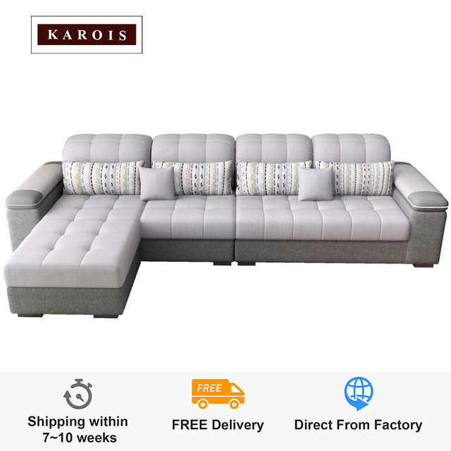 Karois Modern Cloth Sofa 1