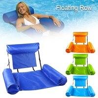 Sommer Aufblasbare Schwimm Wasser Matratzen Hängematte Lounge Stühle Pool Float Sport Spielzeug Teppich Float Pool Zubehör