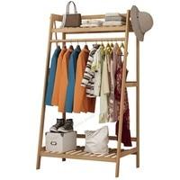 Bamboo Furniture Coat Rack Racks for Clothes Wardrobe  Stand Standing Rack Jacket Holder Jacket Hanger Shoe Rack Wood| |   -