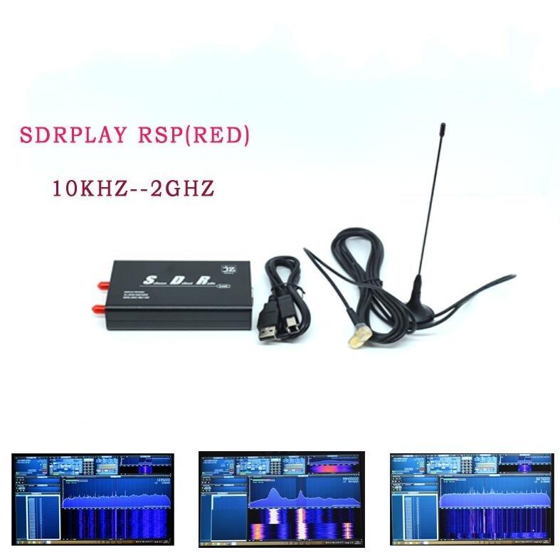 10KHZ-2GHZ 12bit SDR Receiver SDRPLAY RSP1 RSP SDRplay RSP1A Wideband SDR Receiver  AM FM HF SSB CW  FM/MW/DAB Filter