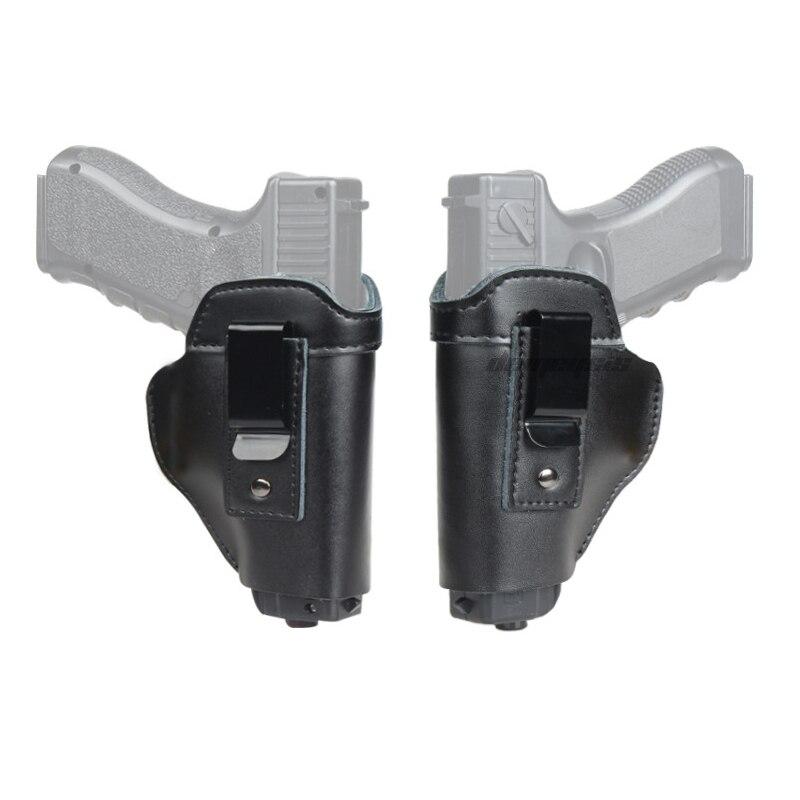 Spor ve Eğlence'ten Kuburluklar'de Taktik IWB gizli taşıma tabancası kılıfı Glock 17 19 26 43  S & W M & P Shield Sig Sauer P226 P229 Beretta 92 M92 tabanca kılıfı title=