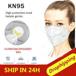 Masks Valve Anti-Virus n95 6-Layers Women 50pcs Dust-Proof Prevent Flu with Activated