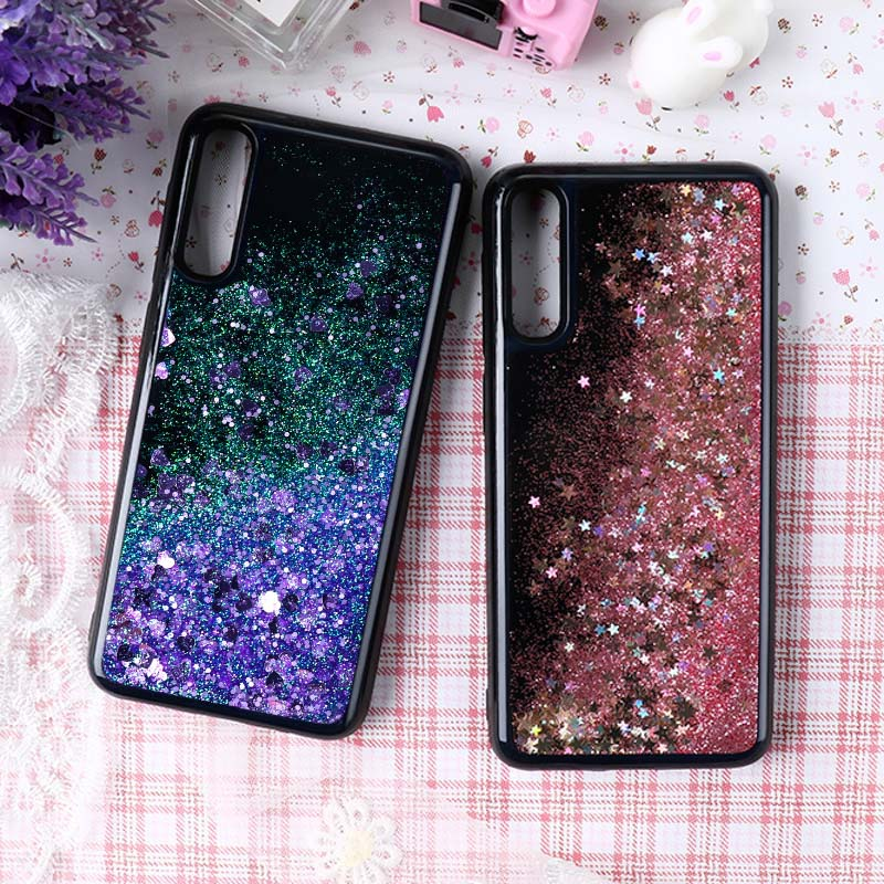 Liquid Quicksand Case For <font><b>Samsung</b></font> Galaxy A50 A70 <font><b>A30</b></font> A40 A10 Case Glitter Silicone Soft Back Cover For <font><b>Samsung</b></font> A 50 A70 <font><b>A30</b></font> A40 image