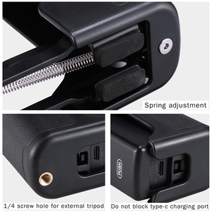Image 2 - Ulanzi OP 9 4th Axi Stabilizer Handle Grip สำหรับ DJI OSMO พ็อกเก็ตพับ Z ประเภทตัวยึด OSMO อุปกรณ์