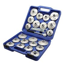HobbyLane 23pcs/set Car Aluminum Alloy Cup Type Oil Filter Cap Wrench Socket Removal Tool