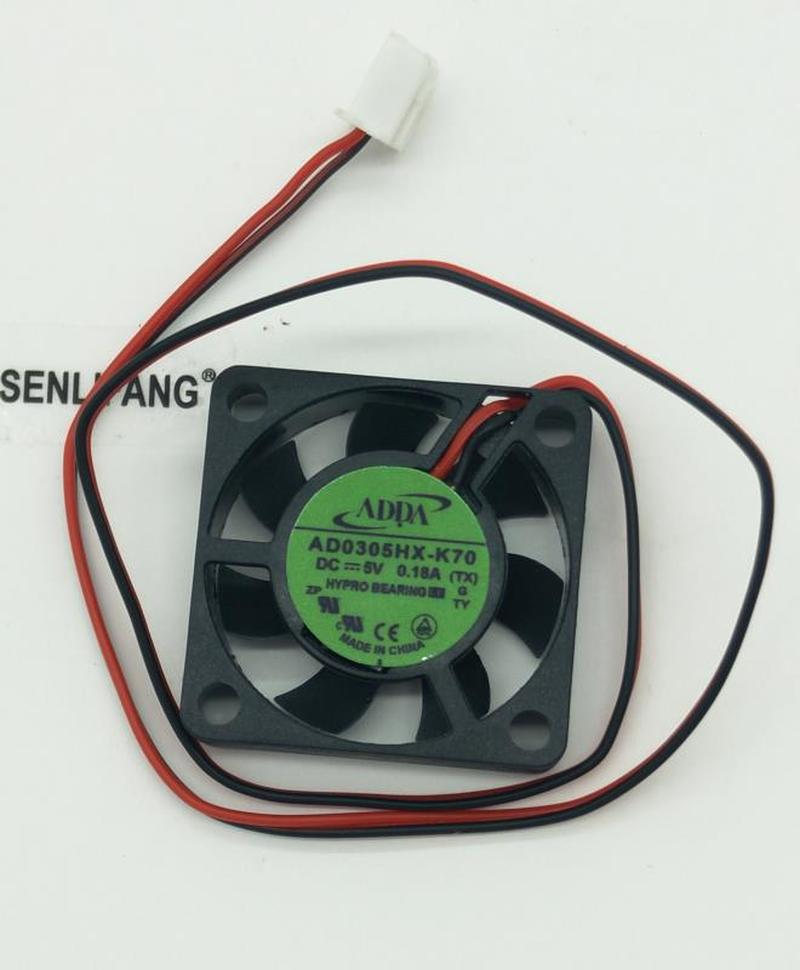 For Original AD0305HX-K70 3006 3cm 30x30x6mm 30mm Fan 5V 0.18A 3cm Large Air Volume Micro USB Cooling Fan Free Shipping