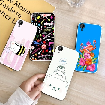 Flamingo 3 Silicon Soft TPU Case Cover For HTC Desire One X9 M9 M10 U11 630 650 820 825 828 830 10 12 Plus Pro Evo image