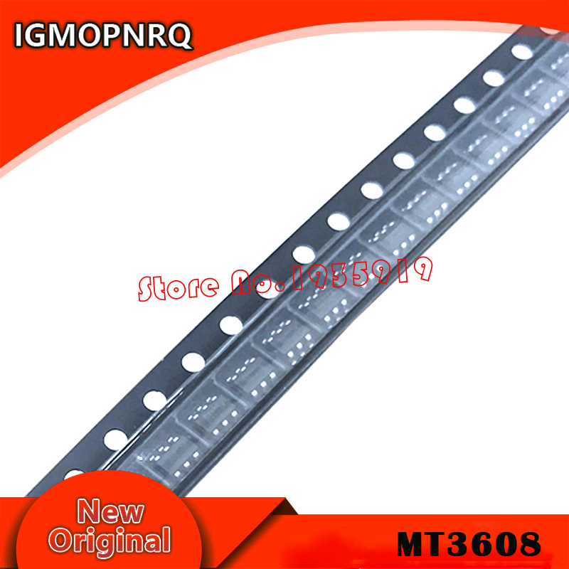 10pcs/lot MT3608 SOT23-6 3608 B628 IC