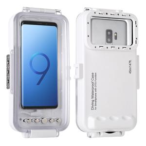 Image 1 - HAWEEL carcasa impermeable de buceo 45m, funda subacuática para tomar fotos y vídeos para Galaxy/ Huawei/ Xiaomi/ Google Android OTG Mobile