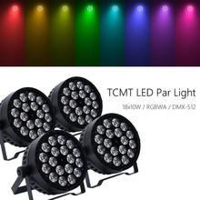 4Pcs 18x10W LED Stage Washer RGBWA 5in1 Live Show Par Light DMX512 Concert Party cher live in concert
