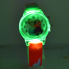 2019 Children's Watch with Electronic Colour Light Source Girls Gift Clocks Children's Wrist Princess Elsa Children's Watch