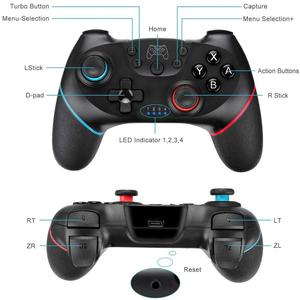 Image 3 - Bluetooth Gamepad for Nintendo Switch Controller NS Switch Pro NS Pro Wireless Gamepad Game joysticks with 6 Axis Handle