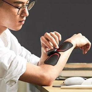 Image 2 - Youpin LF 4 륜구동 마사지 매직 스티커 스마트 전기 마사지 자극기 바디 릴렉스 근육 작업 Mijia App