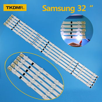 Led Backlight Strip For Samsung UE32F4000AW UE32F5000AK UE32F5030AW UE32F5300AW UE32F5300AK TV LED Bars Kit 9 Lamp Lens 5 Bands