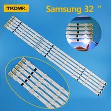 TV LED Bars For Samsung UE32F4000AW UE32F5000AK UE32F5030AW UE32F5300AW UE32F5300AK Backlight Strip Kit 9 Lamp Lens 5 Bands
