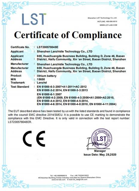 证书-CE