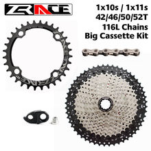 ZRACE 104BCD Chainring 32T / 34T / 36T+ 10S / 11S Bike Cassete 46T 50T 52T + 10 / 11 Speed Chains Bicycle Cassette Kit for Sram(China)