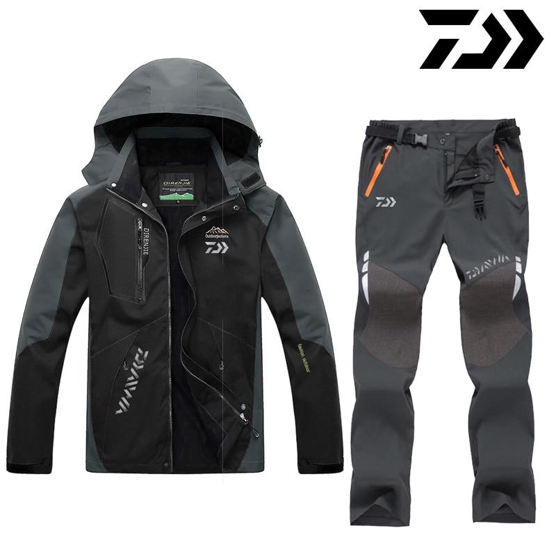 DAIWA Daiwa Fishing Clothes Outdoor Fishing Clothing Quick-drying Pants Men's Fishing Suit Breathable Sunscreen Fishing Jacket