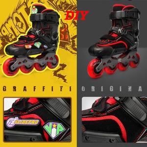 Image 5 - 100% Original 2020 SEBA IGOR2 FZ Adult Inline Skates DIY Roller Skating Shoes Flat Frame Slalom Sliding Free Skating Patines
