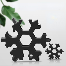 Multifunctional Snowflake Wrench Outdoor Combination Tool Portable Octagonal Alloy Universal Screwdriver Small Bottle Lifter