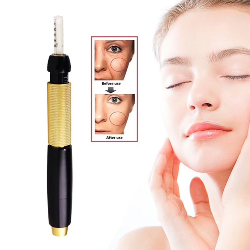 Non-needle Atomized Gun Hyaluron Pen 3 Pressures Choose High Pressure Hyaluronic Acid Pen For Anti Wrinkle Lifting Lip Face Care