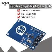 Módulo preciso nfc de 13.56mhz pn532 para arduino compatível com módulo de cartão raspberry pi/nfc para ler e escrever