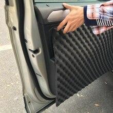 50x80cm 18mm Thick Car Sound Hot Deadener Mat Noise Proof Bonnet Insulation Deadening Hood Engine Heat Foam Cotton Sticker