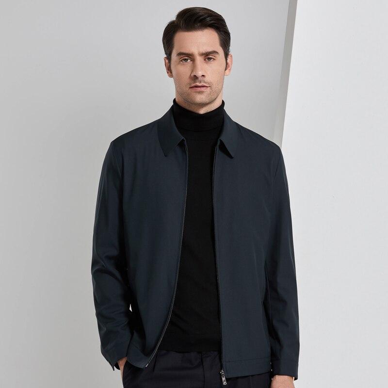 2019 4XL весна осень повседневный мужской жакет Мужская куртка ветровка пальто Мужская s куртка Брендовые мужские костюмы - 5