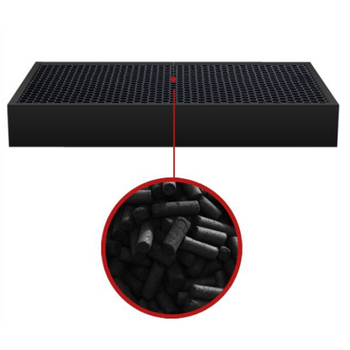 Activated Carbon Filter For Sharp FU-P60S FU-888SV Air Purifiers Dust Cleaner