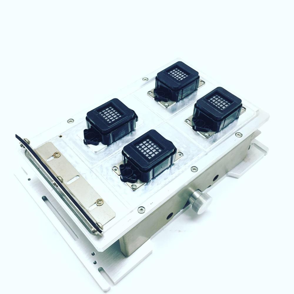 eco solvent capping station assembly for xp600 dx10 head four head - 2