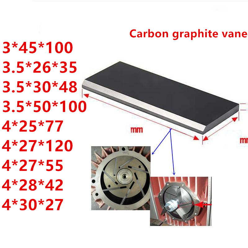 All Models Vacuum Pump Carbon Vanes Graphite Vane,graphite Blade