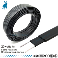 10-50 м 8 мм 220 В Тип огнестойкости нагревательный ремень самоограничивающийся температура водопровод защита крыши deicing нагревательный кабель