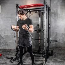 Squat-Rack Door-Frame Bench-Press Gym-Training-Equipment Smith-Machine Weightlifting-Barbell