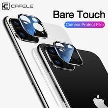 Cafele 2 adet kamera Lens koruyucu temperli cam iPhone için 11 pro max Ultra ince 9H sert koruyucu cam iPhone 11 pro max