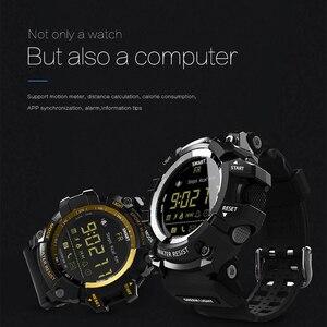Image 3 - Lokmat mk16 relógio smartwatch unissex, relógio inteligente, el luminoso, esportivo, bt, monitoramento de atividades esportivas, para android/ios