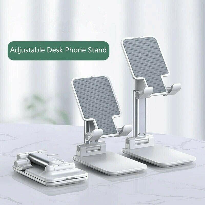 Ergonomic Collapsible Adjustable Cell Phone Stand Tablet Holder Bracket Mount B88