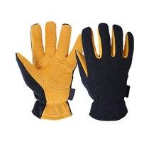 Winter ski gloves for outdoor activities sports warm Deerskin windproof skiing
