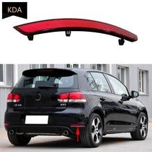 Auto Rear Bumper Reflector Warning Light Strip Cover Bar for VW Golf MK6 GTI 2009 2010 2011 2012 5K0945105E 5K0945106E