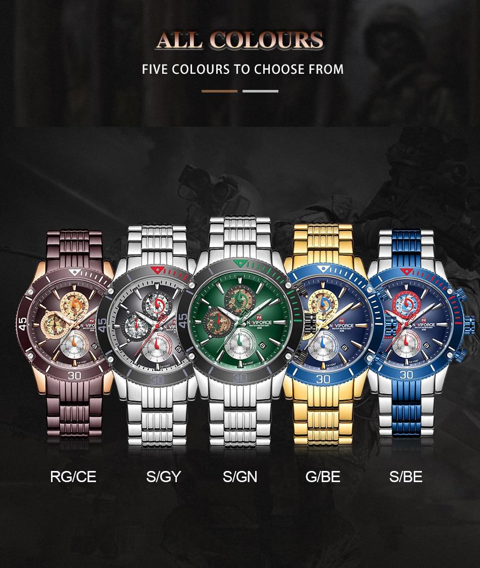 NAVIFORCE 9173 Watch 11