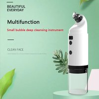 Electric Pore Cleaning Tool Small Bubble Beauty Instrument Hand-Held Face Cleaning Tool Blackhead Cleaning Instrument