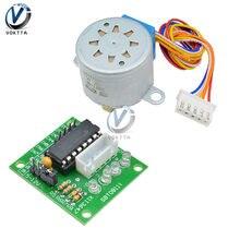 Módulo de placa de controlador ULN2003 + DC 12V 28BYJ-48, engranaje de reducción, Motor paso a paso de 4 fases para Arduino DIY