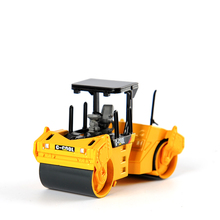 Diecast C-COOL 80004 1:64 Scale Vibratory Asphalt Compactor Vehicle CAT Engineering Truck Model Cars Gift Toys