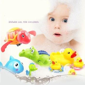 Cute Cartoon Animal Tortoise Classic Baby Water Toy Infant Swim Turtle Wound-Up Chain Clockwork Kids Beach Bath Toys