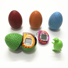 Tumbler led speelgoed tamagochi Dinosaurus ei Virtuele Elektronische Huisdier Machine Digitale Elektronische E-huisdier Retro Cyber Speelgoed Handheld Game(China)